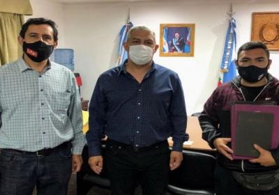 AJALaR recibió a la Asociación Civil Club Deportivo Los Obreros