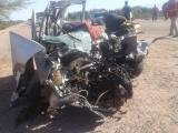 Accidente en la Ruta 74 un muerto y un herido de gravedad [FOTOS]