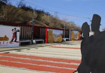 Inauguraron en Olta la obra «Caminito, el sendero del Amor»