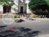Malligasta: Un hombre perdió la vida tras caer de su moto