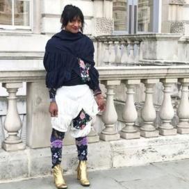 La indígena transgénero colombiana que impone su moda en el exterior